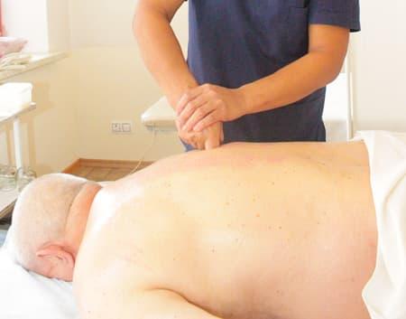 Точечный массаж, лечебный массаж